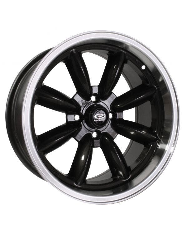 Rota RBR Alloy Wheel 8Jx16'' ET10 4x100 Stud Pattern Gunmetal Polished
