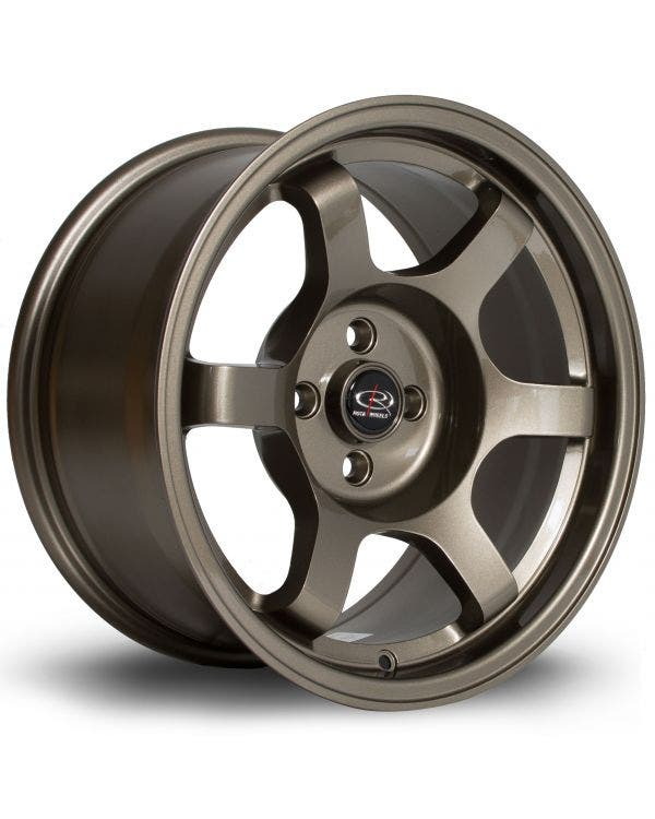 Rota Grid Alloy Wheel 8Jx16'' ET10 4x100 Stud Pattern Bronze