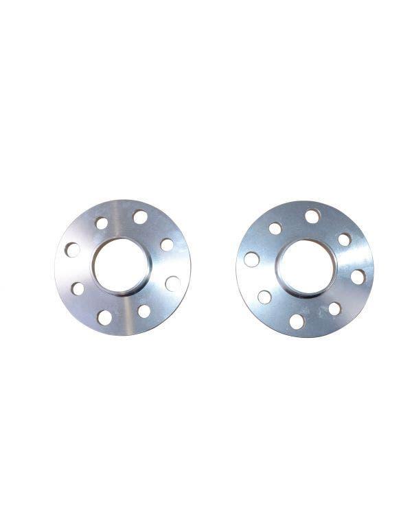 Separadores de ruedas de SSP de 25mm de espesor, pareja de aluminio de patrón de pernos de 5x112
