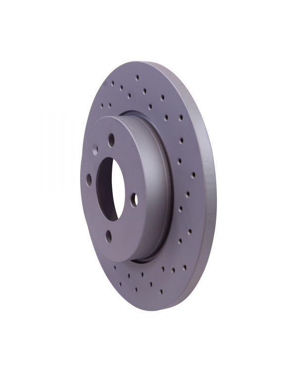 Sport Cross-Drilled Solid Front Brake Discs 256x13mm
