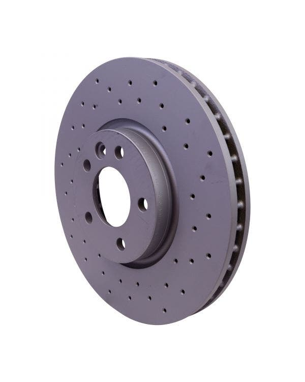 Sport Cross-Drilled Vented Front Brake Discs 340X32.5mm PR-2E4