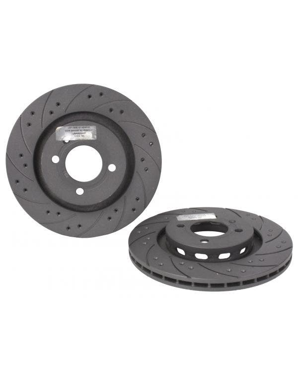 Black Diamond Front Brake Discs 280x22mm  Pair