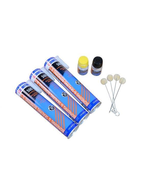 Dintrol Triple Pack Window Adhesive Bonding Kit
