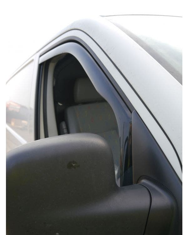 In-Channel Wind Deflectors Smoked