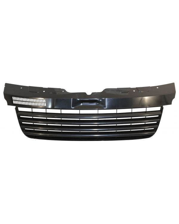 De-badged Front Grille Satin Black
