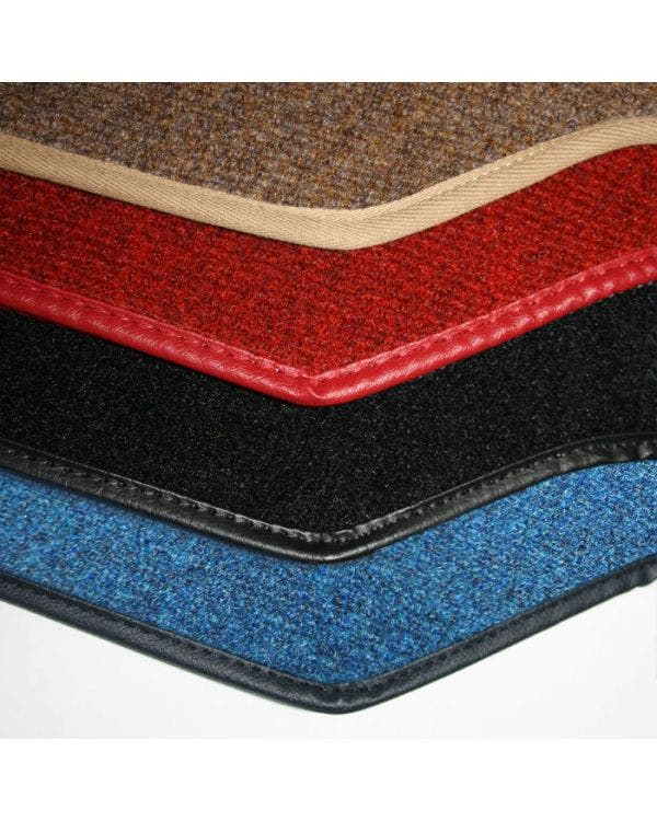 Carpet Mat Set for Right Hand Drive Black Pair