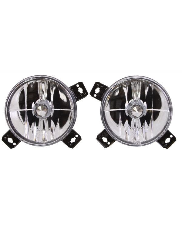 Spot Lights Crystal Clear Pair
