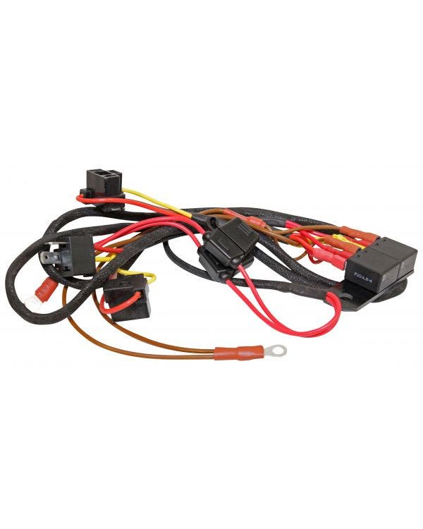 Headlight Wiring Loom Harness Upgrade Kit