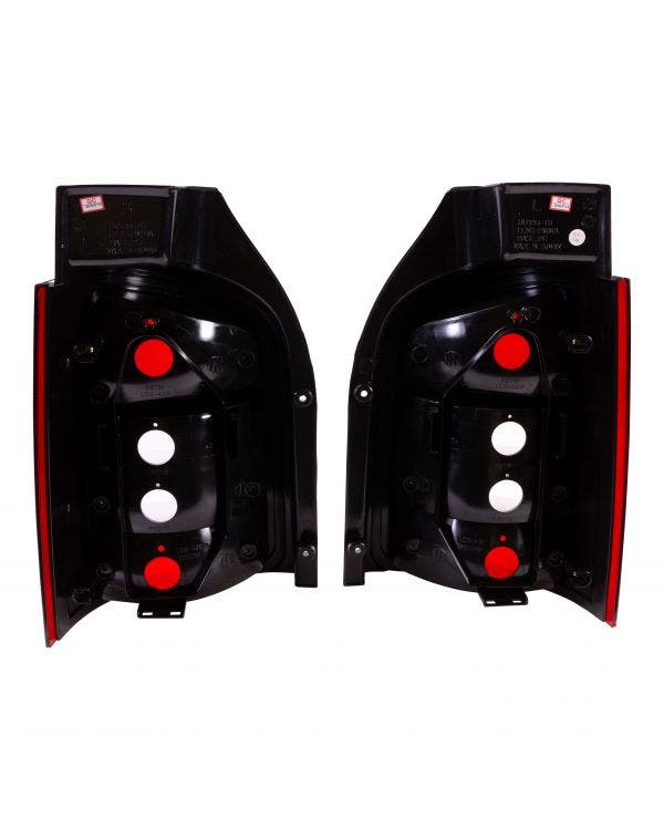 Rear Light Set in Smoked Crystal Clear and Red for Tailgate Model