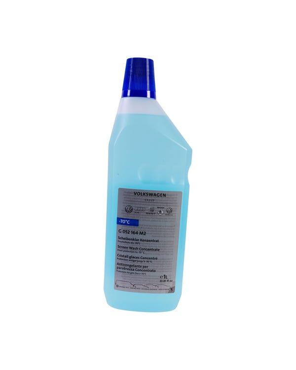 Liquido limpiaparabrisas concentrado. 1 litro