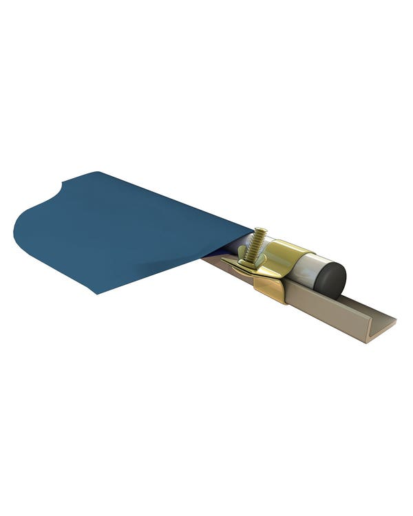 Awning to Gutter Connection Pole and Gripper Set