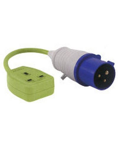 UK Mains Hook Up Adapter UK Socket