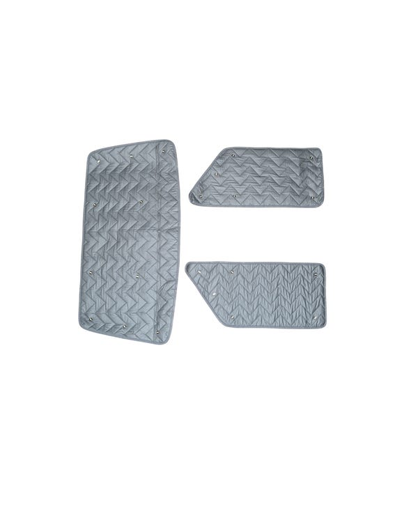 SSP Deluxe Thermo Mat Kit 3 Piece for Front Cab