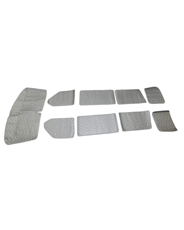 SSP Deluxe Thermo Mat Full Kit for Short Wheelbase with Barndoors 9 Piece