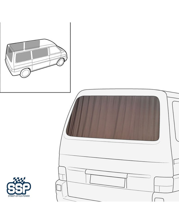 SSP Curtain Set 5 Piece for Short Wheelbase Sides & Tailgate