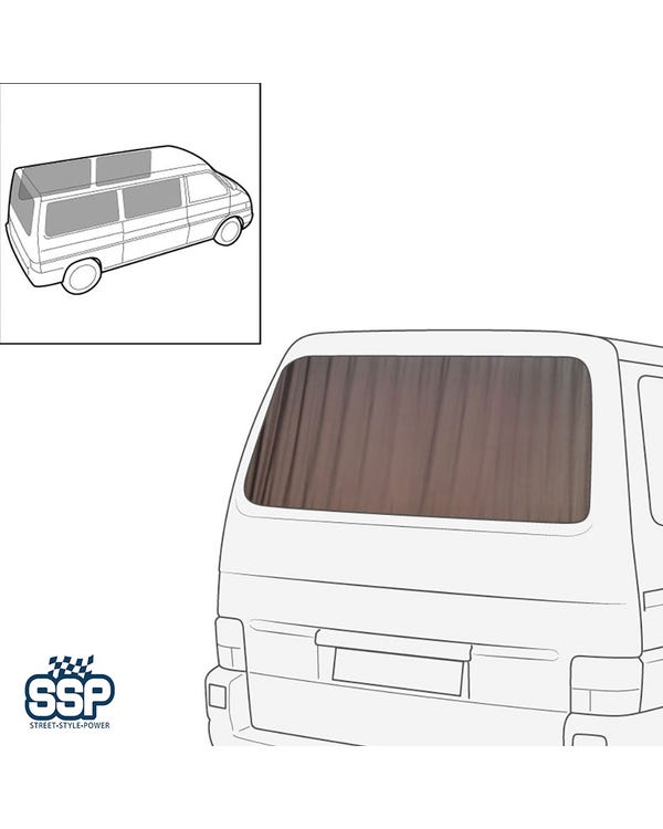 SSP Curtain Set 5 Piece for Long Wheelbase Sides & Tailgate