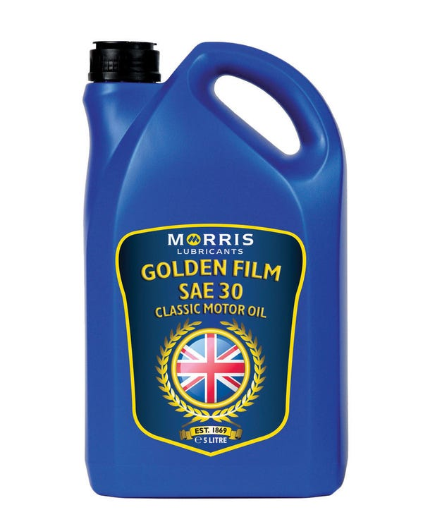 Morris Golden Film Engine Oil SAE30, 5 Litre