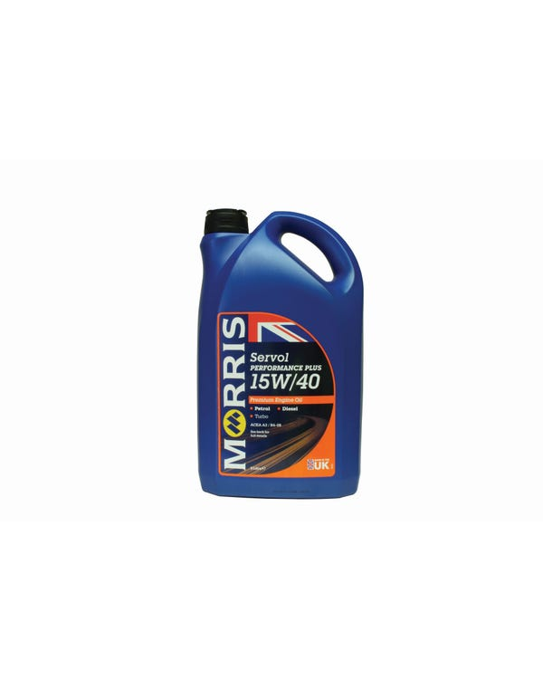Morris Servol Multigrade Engine Oil 15/40w, 5 Litre
