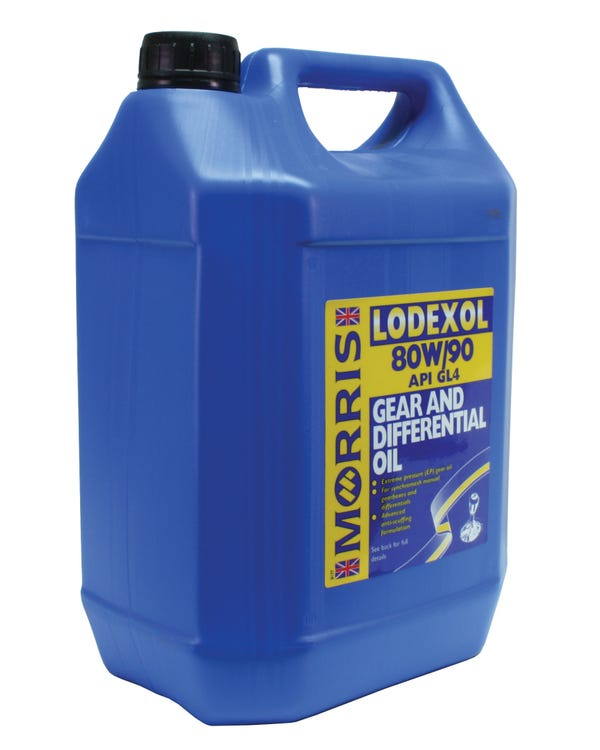 Morris Lodexol Gearbox Oil 80/90w, 5 Litre