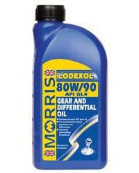 Aceite caja de cambios Morris Lodexol, 80/90W. litro