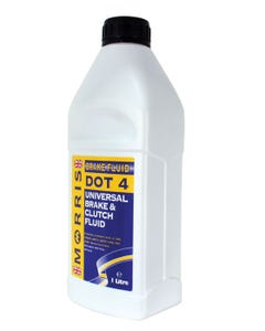 Morris DOT 4 Brake Fluid, 1 Litre