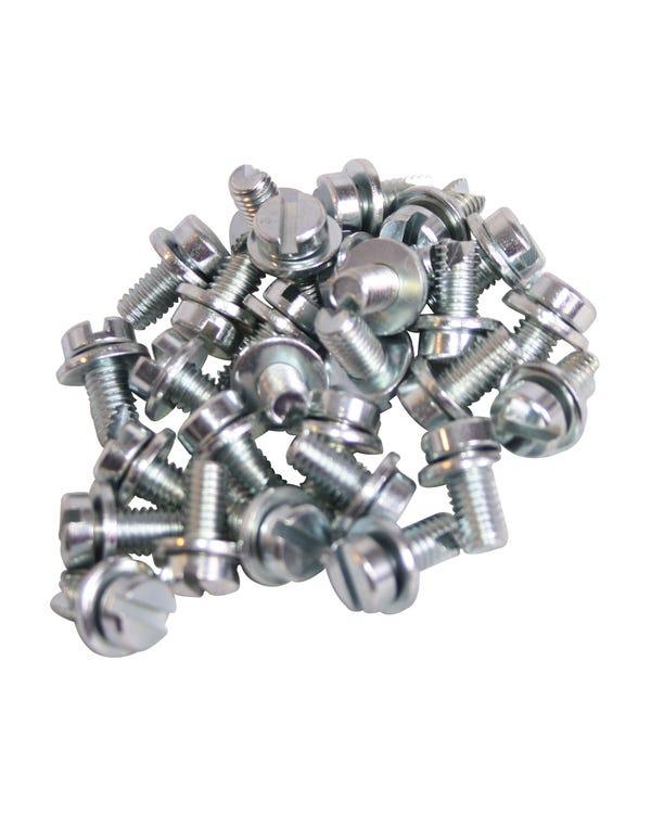 Tinware Screw 100 Piece Set