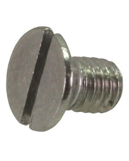 Schraube, seitliches Ausstellfenster,  zwischen Rahmen und Scharnier