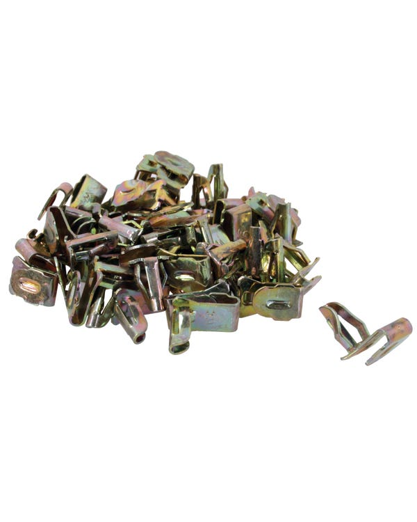 Door Panel Clips for 6mm Hole Supplied in Bags of 50