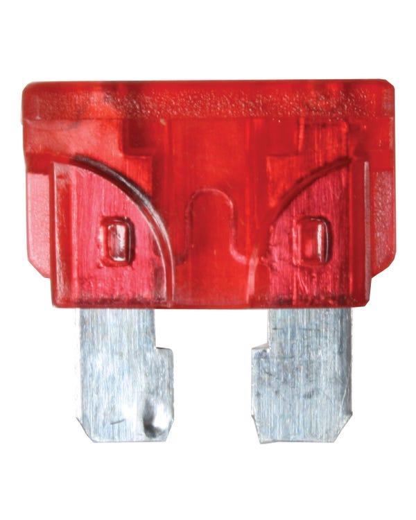 Fusible  rojo 10 amperios