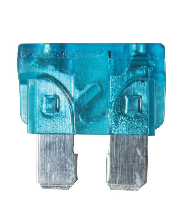 Fusible  azul de 15 amperios