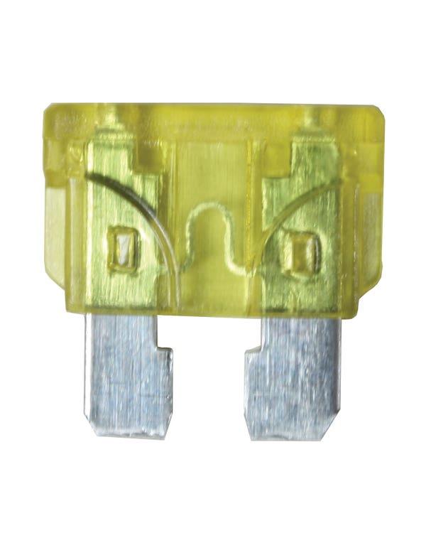 Blade Fuse, Yellow 20 Amp
