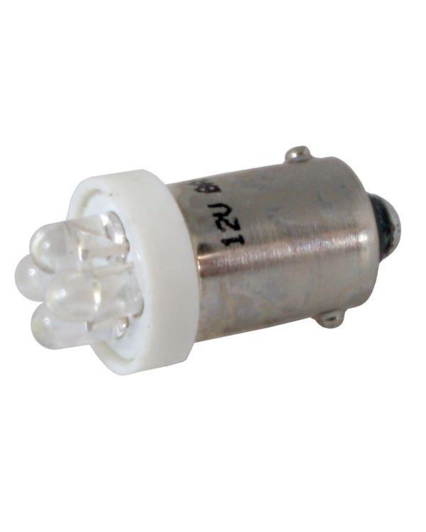 Sidelight Bulb LED12v with Bayonet BA9S Base