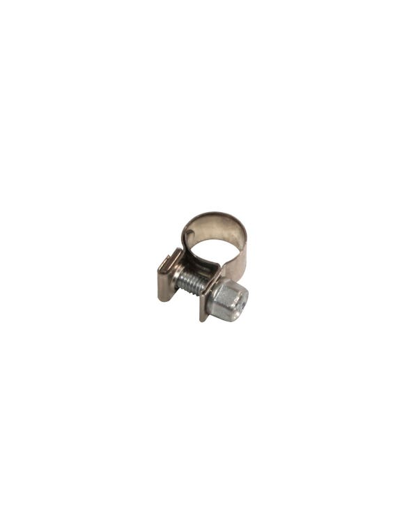 Hose Clip, Screw Type 5mm Stainless Steel