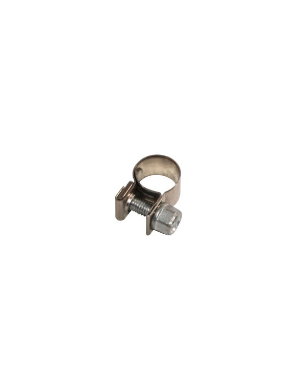 Stainless Steel Hose Clip for 5mm Hose, Screw Type