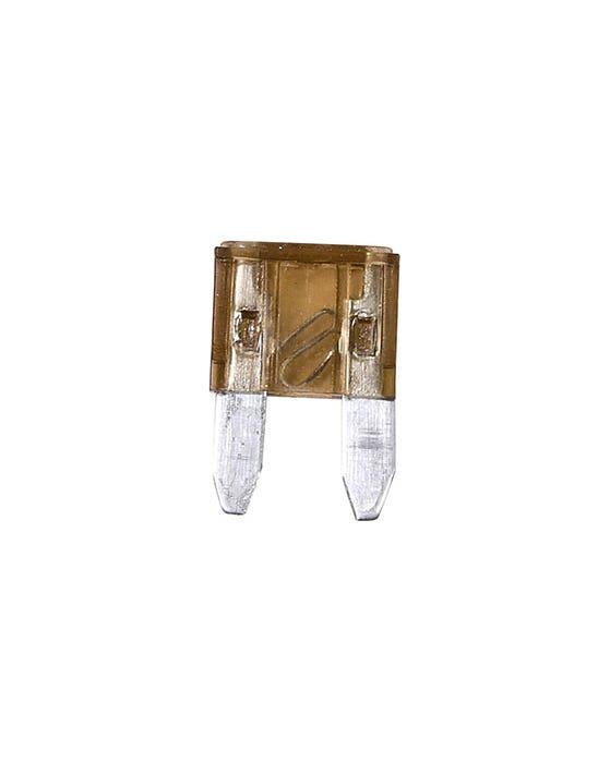 Mini Blade Fuse, 7.5 Amp, Brown