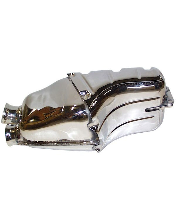 Sports Exhaust Rear Silencer Stainless Steel