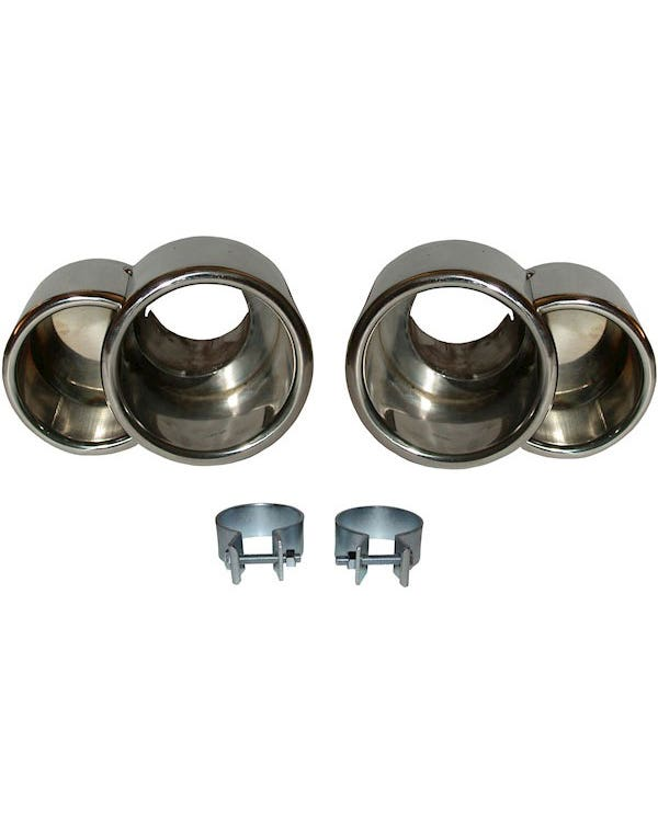 Exhaust Tail Pipe Kit, Stainless Steel