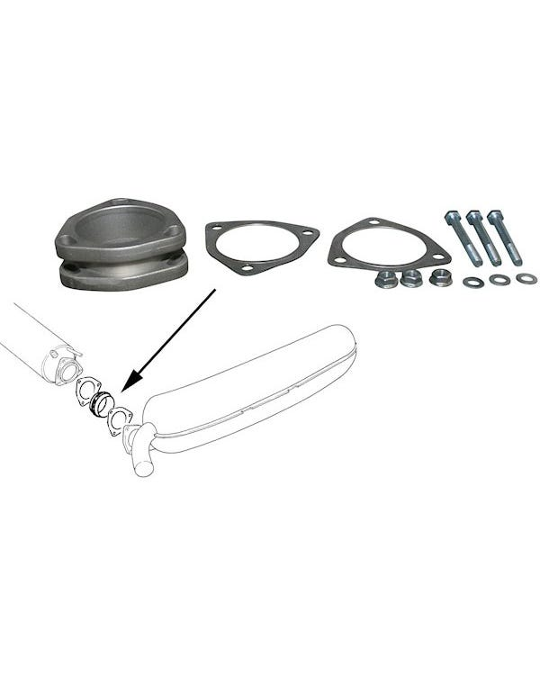 Auspuff-Adapter-Set, 3.6l Motoren