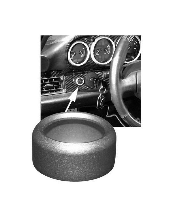 Headlight Switch Trim Ring Aluminium