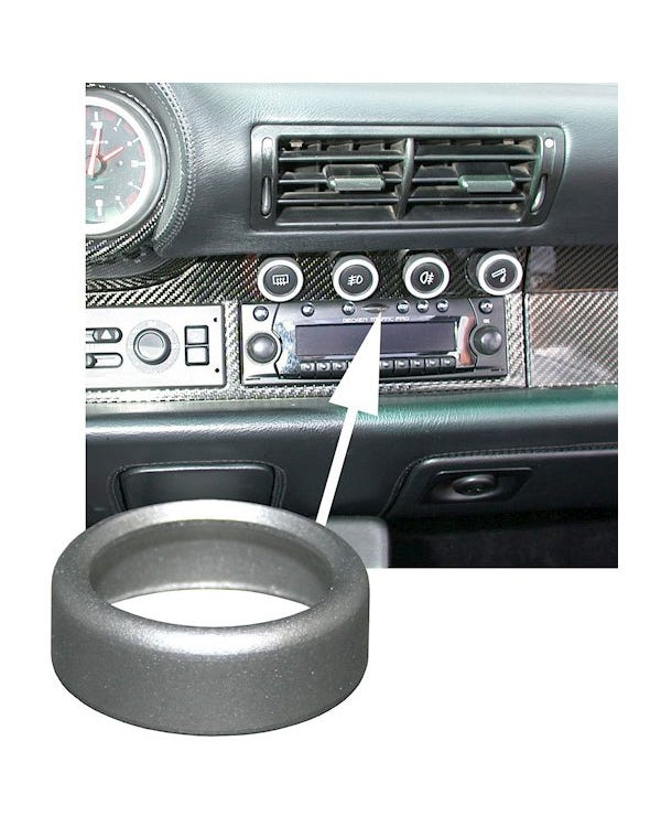 Dash Switch Trim Ring Aluminium