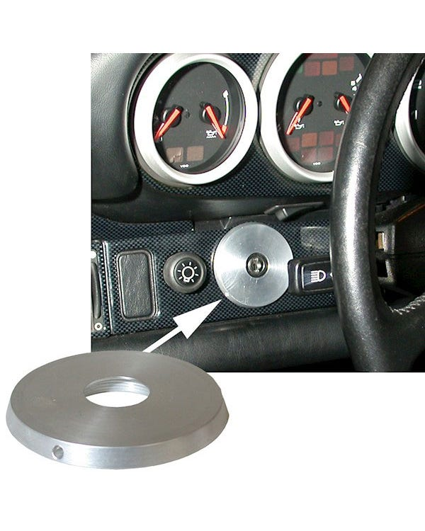 Ignition Switch Trim Ring Aluminium