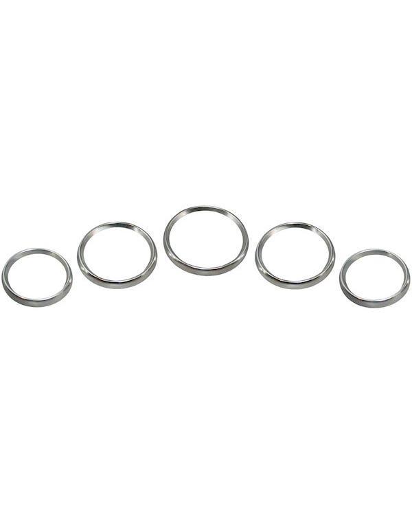 Gauge Trim Ring Set Aluminium Heavy Duty