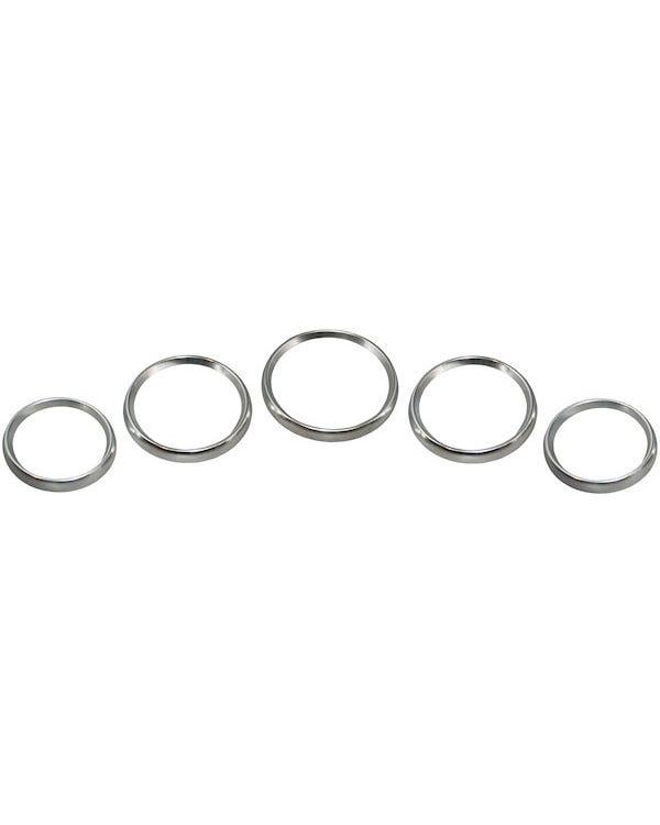 Gauge Trim Ring Set Aluminum Heavy Duty