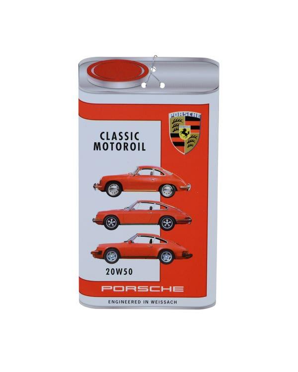 Porsche Classic Oil Change Label 20W-50