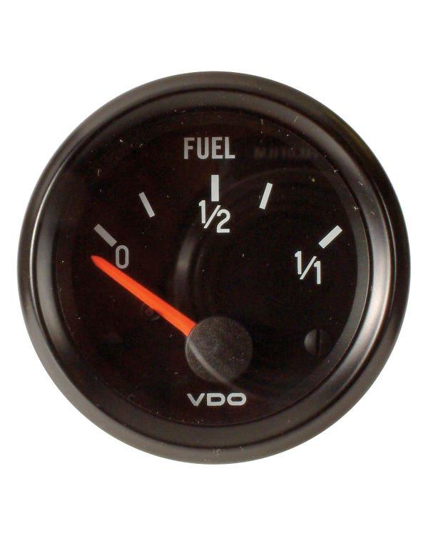 VDO Tankanzeige, Cockpit, für Universal-Geber, 52mm, schwarz