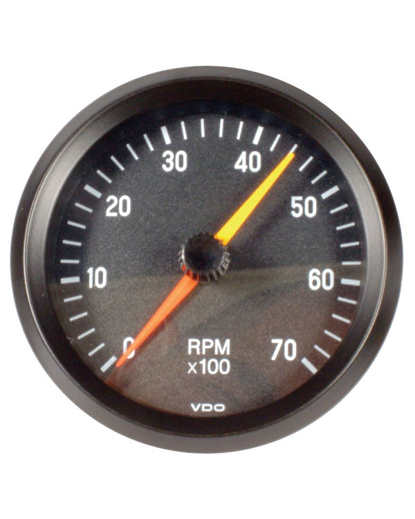 VDO Cockpit Tachometer 7000RPM 80mm Black