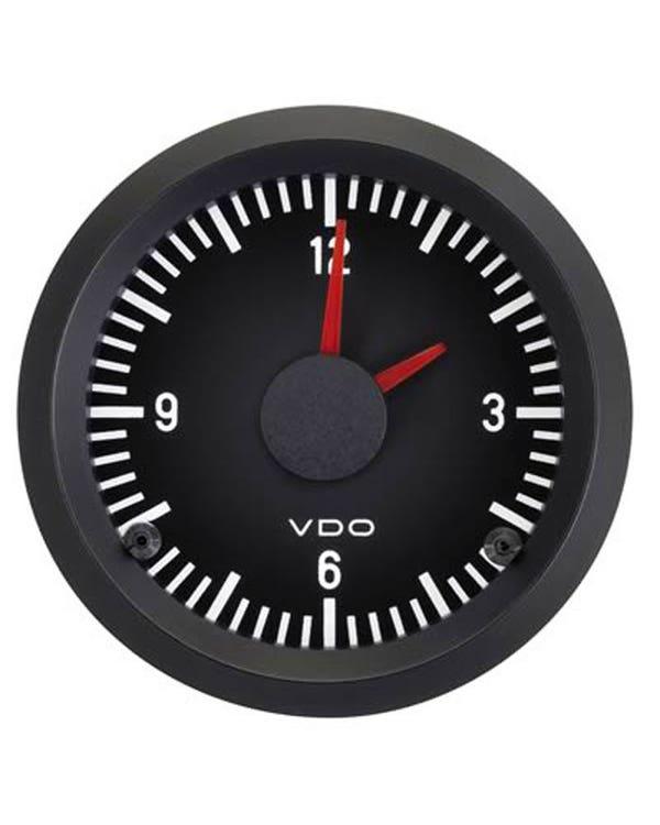 VDO Cockpit Clock 52mm Black
