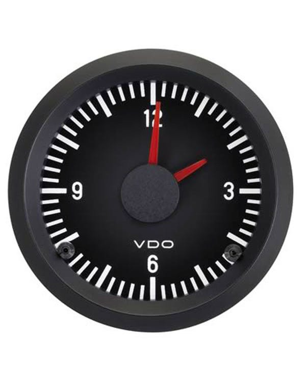 VDO Cockpit Clock 52mm Black