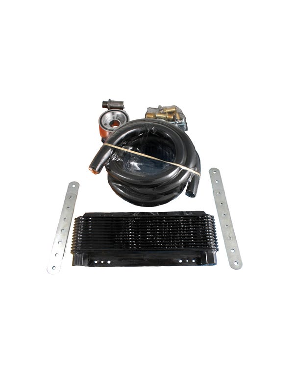Oil Cooler Kit 24 Row with Sandwich Row Universal