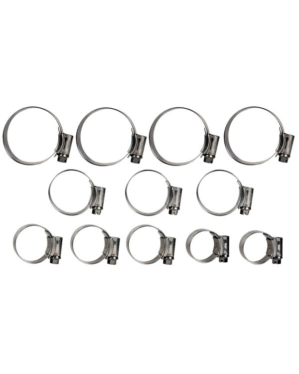 Samco Coolant Hose Clip Kit